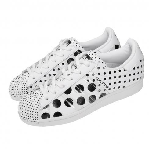 adidas Superstar Polka Dots White