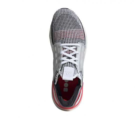 adidas ultra boost 19 cloud white active red