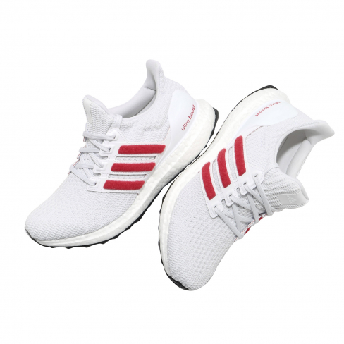 adidas Ultra Boost 4.0 DNA Cloud White Scarlet