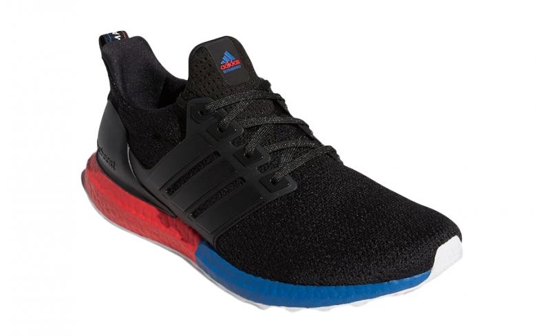 adidas Ultra Boost DNA Core Black Lush Red - KicksOnFire.com
