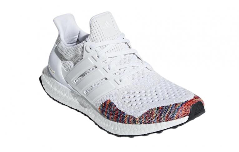 adidas Ultra Boost Rainbow White