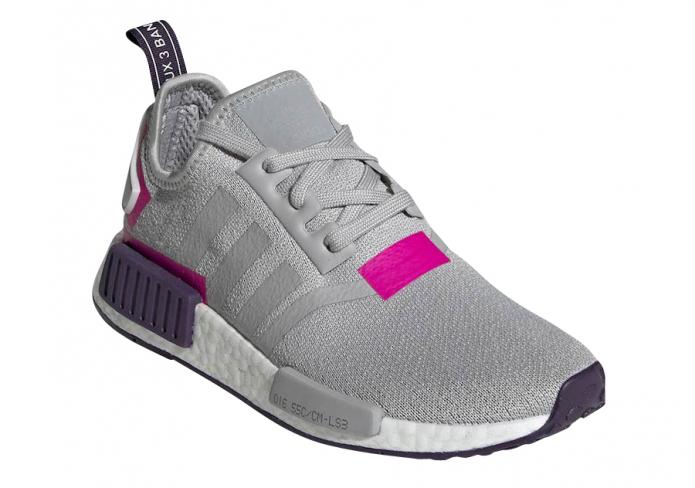 adidas WMNS NMD R1 Grey Shock Pink - KicksOnFire.com