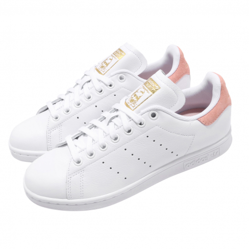 adidas WMNS Stan Smith Footwear White Glow Pink ...
