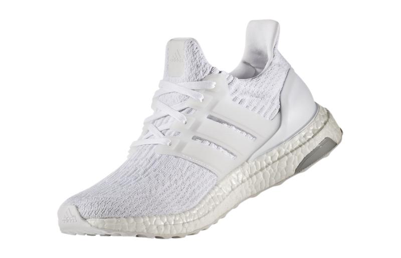 adidas WMNS Ultra Boost 3.0 Triple White - KicksOnFire.com