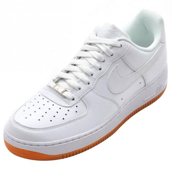 Air Force 1 - White / White – Gum