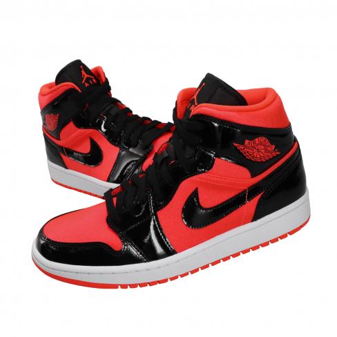 Air Jordan 1 Mid WMNS Bright Crimson