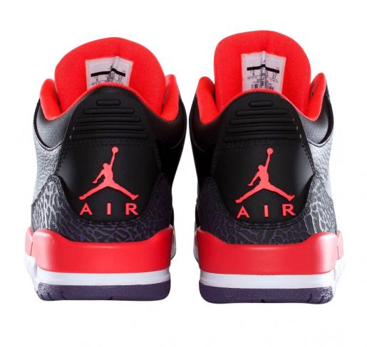 Air Jordan 3 Crimson - KicksOnFire.com