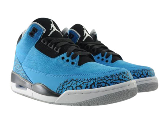 Air Jordan 3 Powder Blue - KicksOnFire.com