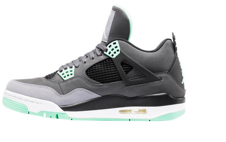 Air Jordan 4 - Green Glow - KicksOnFire.com