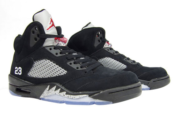 Air Jordan 5 Black Metallic 2011