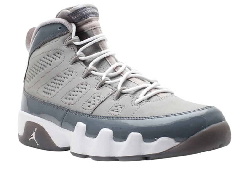 Air Jordan 9 Cool Grey - KicksOnFire.com