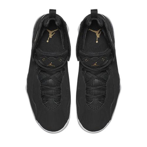 Jordan True Flight Black Gold