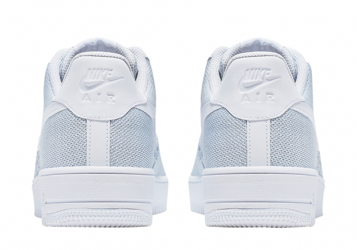 nike air force 1 flyknit white