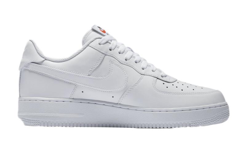 Nike Air Force 1 Low Swoosh Pack White - KicksOnFire.com