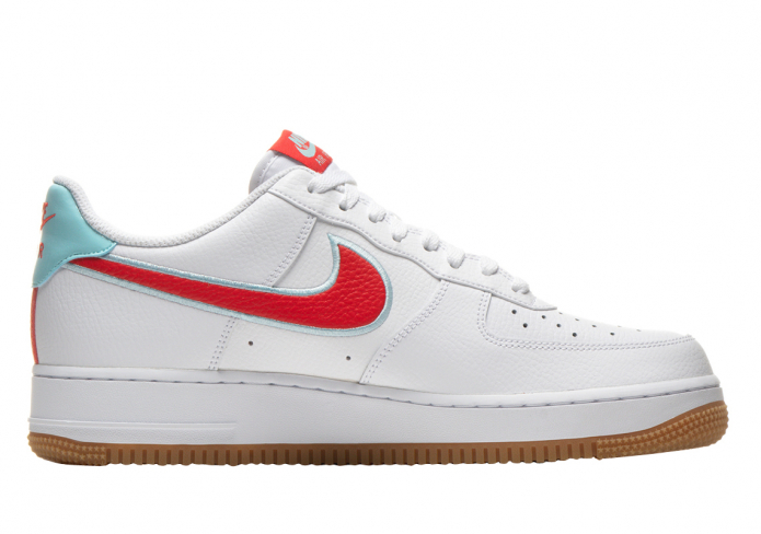 Nike Air Force 1 Low White Chile Red