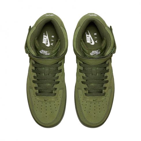 Nike Air Force 1 Mid Legion Green - KicksOnFire.com