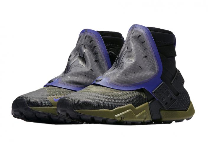 Nike Air Huarache Gripp Olive Canvas - KicksOnFire.com