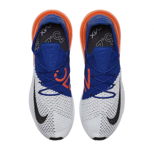 Nike Air Max 270 Flyknit Racer Blue