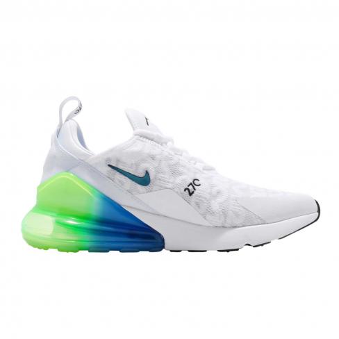Nike Air Max 270 White Lime Blast