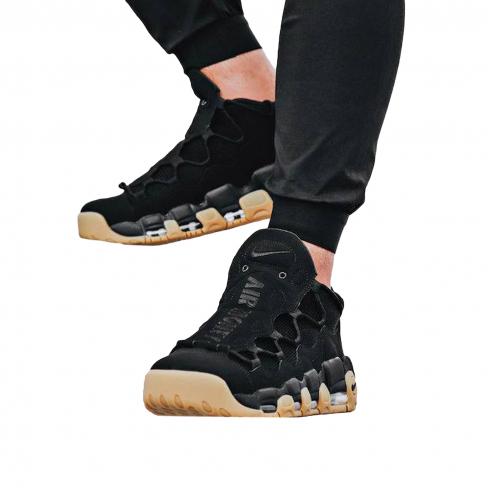 Nike Air More Money Black Gum