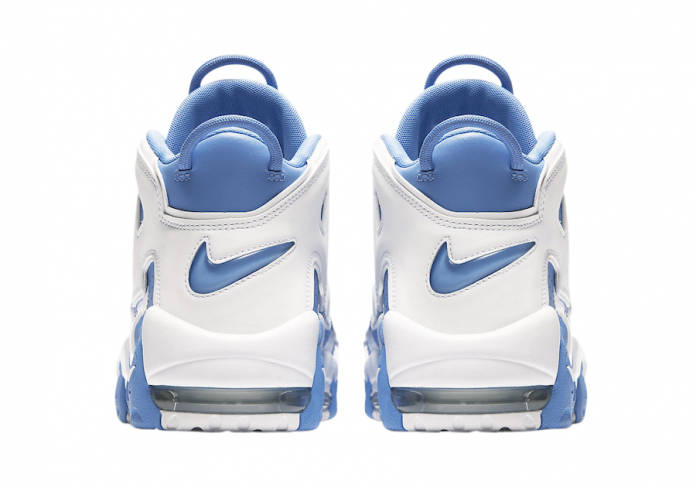 uptempo white and blue