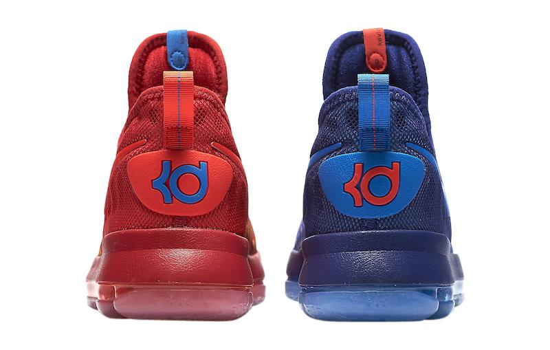 Nike KD 9 GS Fire And Ice - KicksOnFire.com