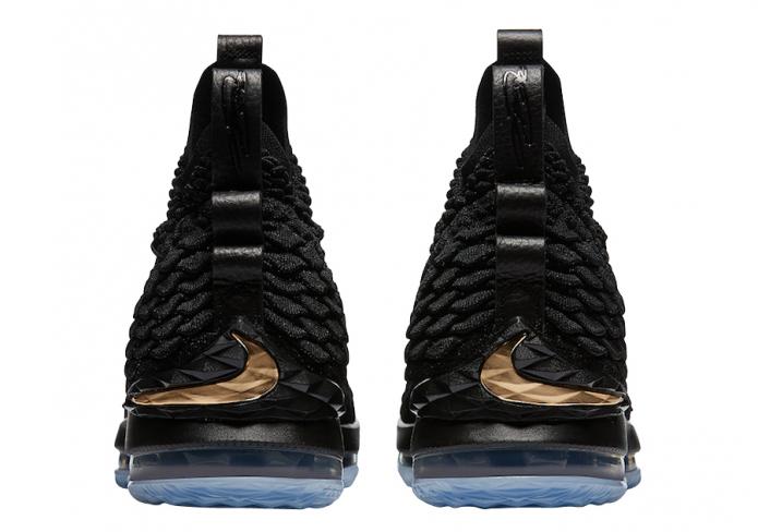 Nike LeBron 15 Black Metallic Gold