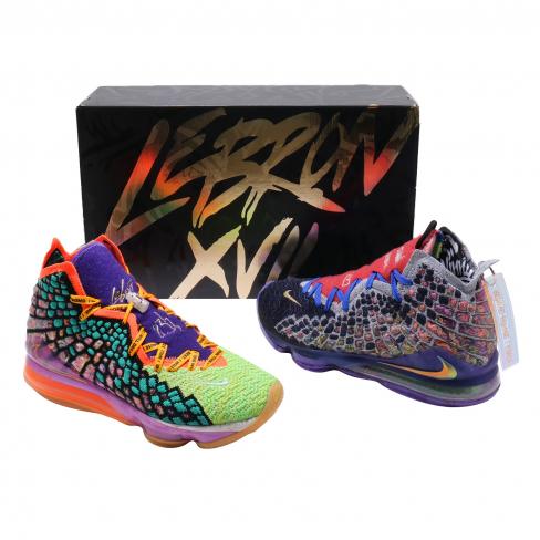 Nike LeBron 17 What The
