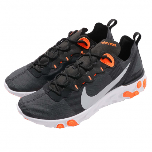 Nike React Element 55 Black Wolf Grey