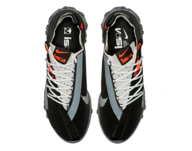 Nike React WR ISPA Low Black