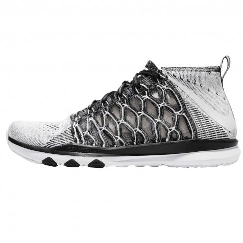 forma Desconfianza Agacharse  Nike Train Ultrafast Flyknit Black White - KicksOnFire.com