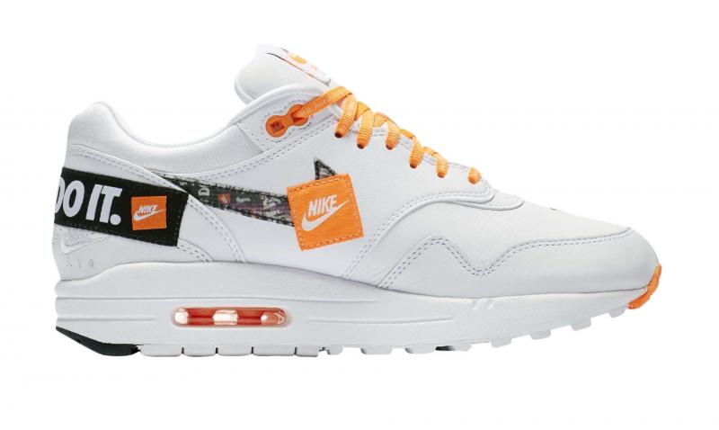Nike WMNS Air Max 1 LX Just Do It White - KicksOnFire.com