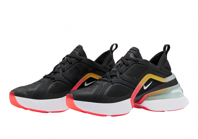 Nike Air Max 270 Xx Trainers Black White Bright Crimson