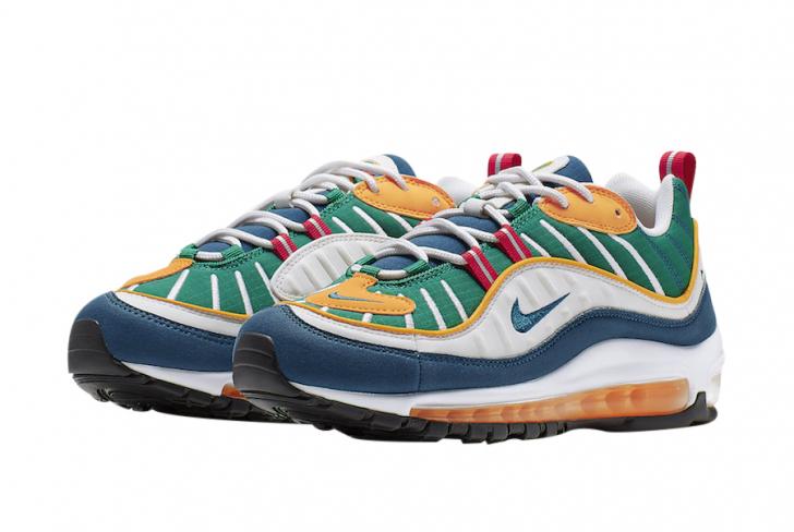 Nike WMNS Air Max 98 Multicolor - KicksOnFire.com
