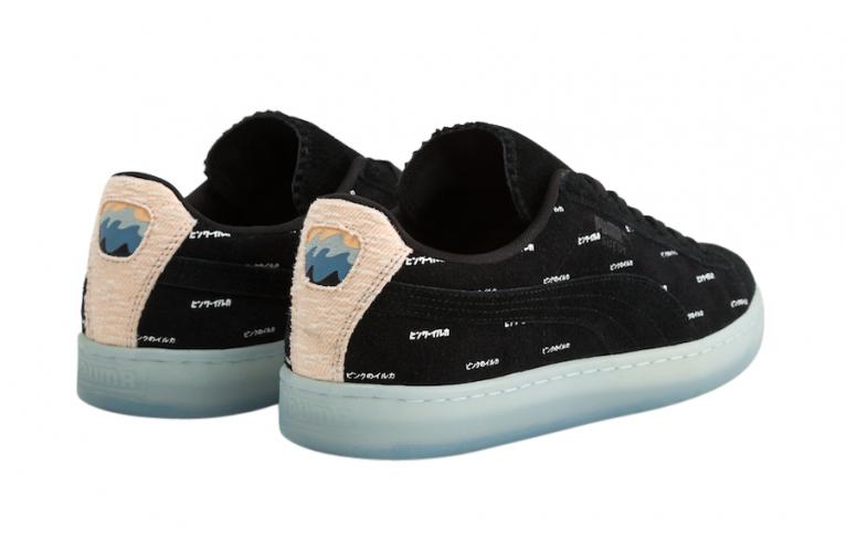 Pink Dolphin x Puma Suede V2 Black