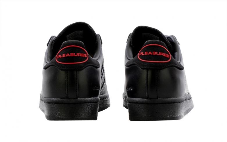 PLEASURES x adidas Superstar - KicksOnFire.com