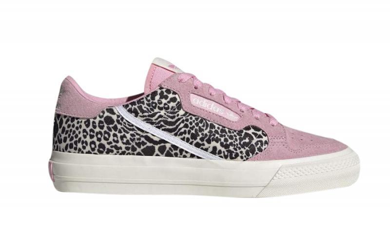 adidas Continental Vulc Leopard Print