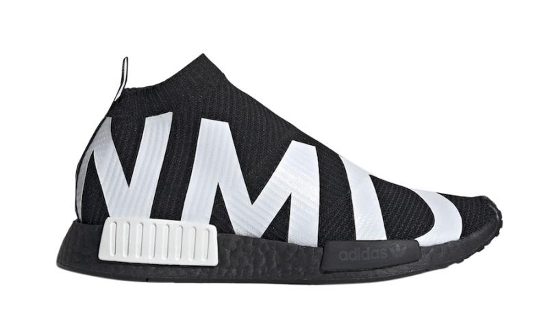 adidas nmd city sock core black
