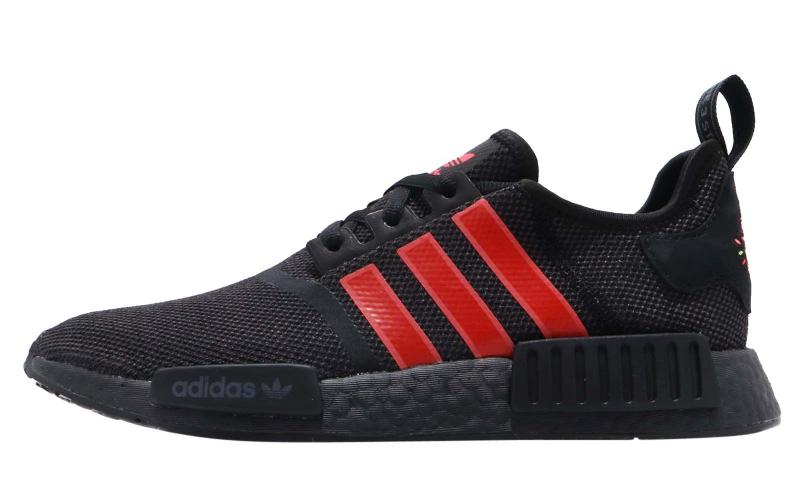 adidas NMD R1 Black Red - KicksOnFire.com