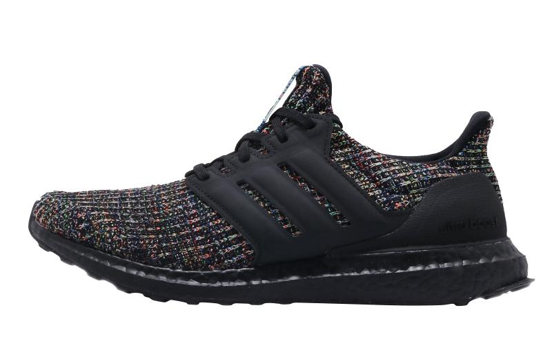 adidas Ultra Boost 3.0 Black Multicolor
