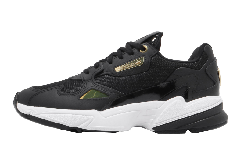 adidas WMNS Falcon Core Black Gold