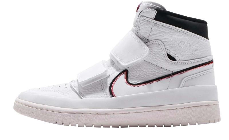 Air Jordan 1 High Double Strap White