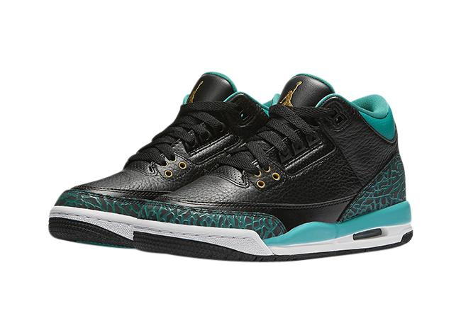 Air Jordan 3 GS Rio Teal - KicksOnFire.com