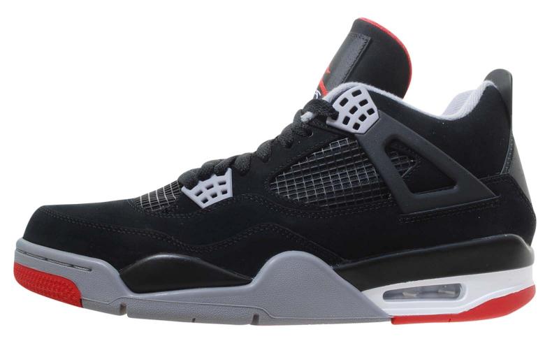 Air Jordan 4 Bred 2012 - KicksOnFire.com