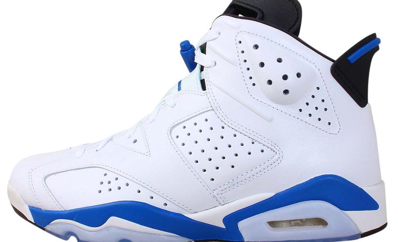 Air Jordan 6 - Sport Blue - KicksOnFire.com