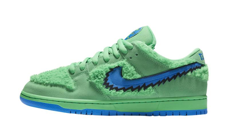 Nike SB Dunk Low Grateful Dead Green