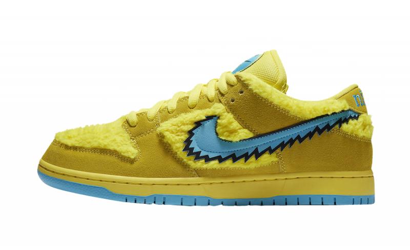 Nike SB Dunk Low Grateful Dead Yellow