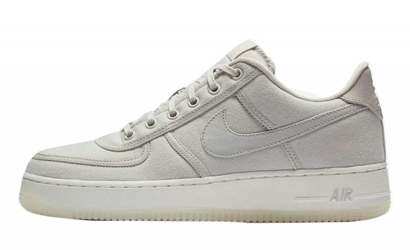 Nike Air Force 1 Low Canvas Light Bone