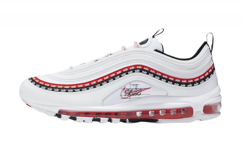 Nike Air Max 97 White University Red
