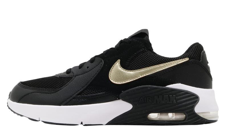 Nike Air Max Excee GS Black Metallic Gold - KicksOnFire.com